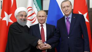 أردوغان بوتين روحاني: تحالف الضرورة المؤقت جداً