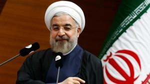 الرئيس حسن روحاني: خطاب أقلق الإيرانيين.